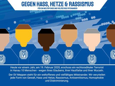 Der SV Meppen und seine Fans beziehen Stellung.