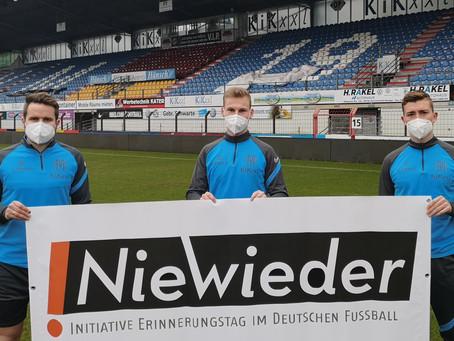 Nie wieder! – 17. Erinnerungstag im deutschen Fußball