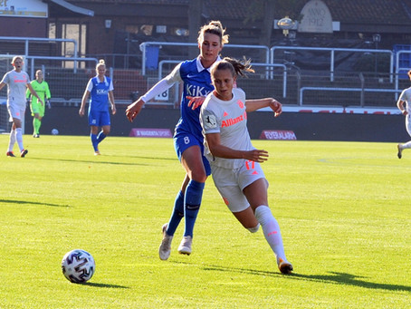 """SVM-Frauen """"schmeißen alles rein""""  Respektable Leistung beim 0-3 gegen den FCB"""