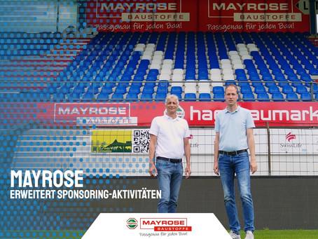 SV Meppen setzt Zusammenarbeit mit Mayrose fort