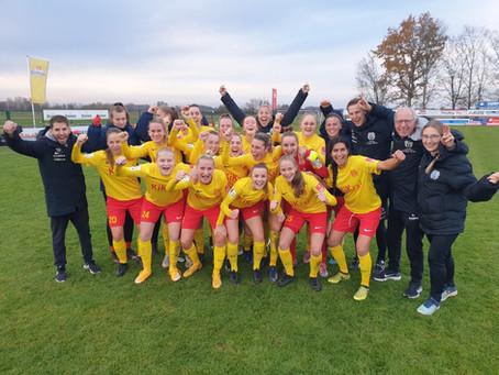 SVM-Frauen feiern ersten Bundesligaerfolg!