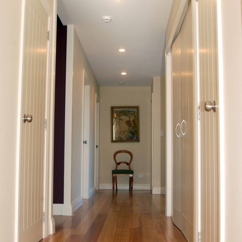 Northcote Point Heritage New Home Hallway