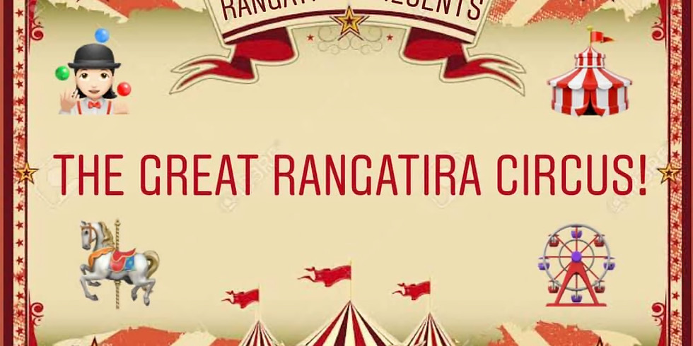 Under 30's Weekend - The Great Rangatira Circus