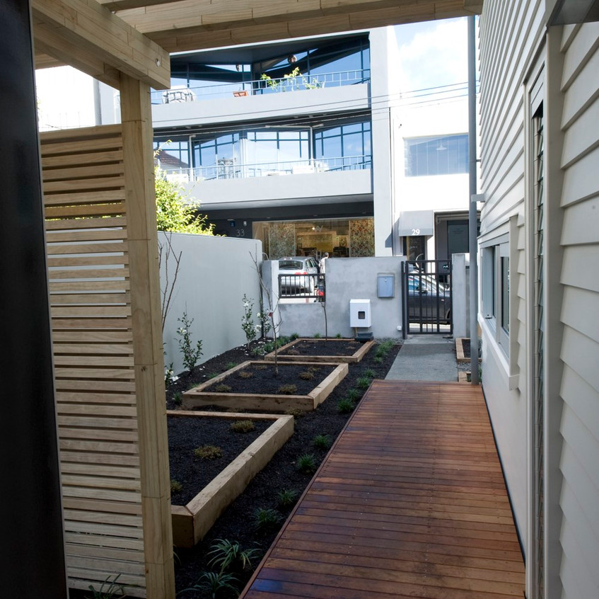 Parnell new home deck
