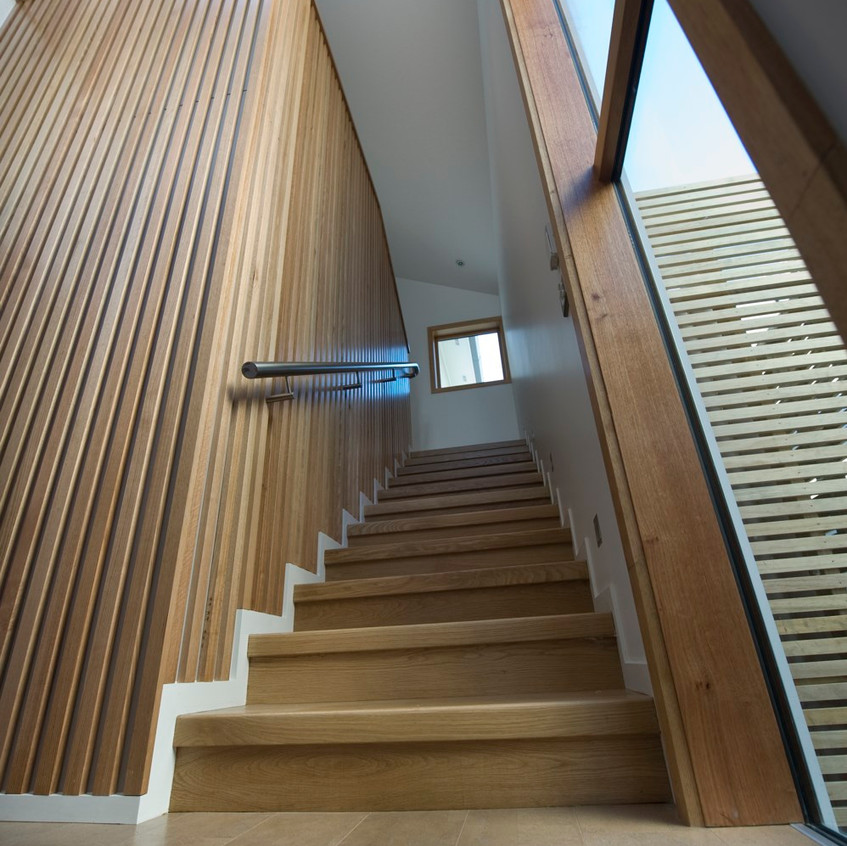 Parnell new home stairway