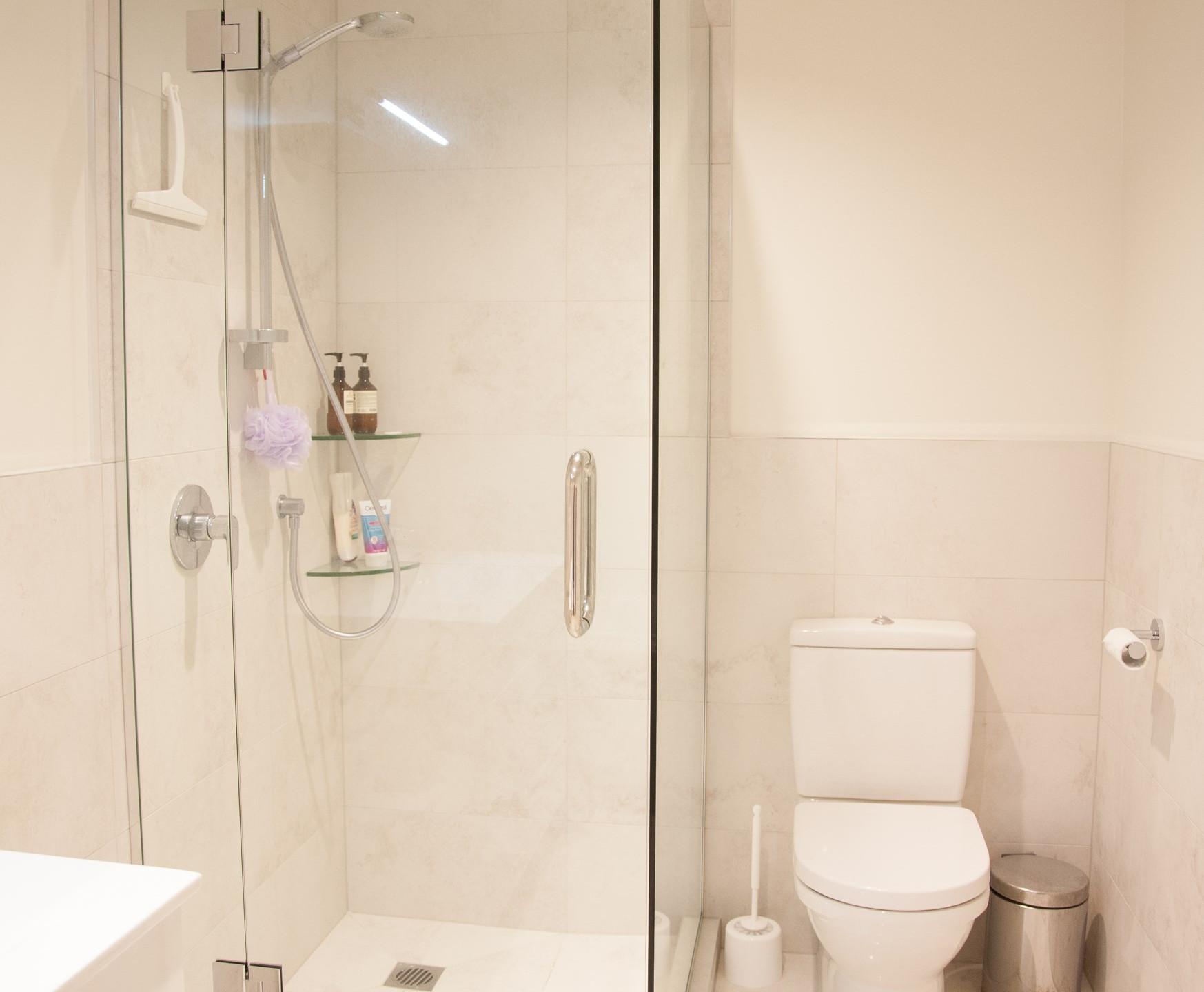 Epsom basement renovation bathroom