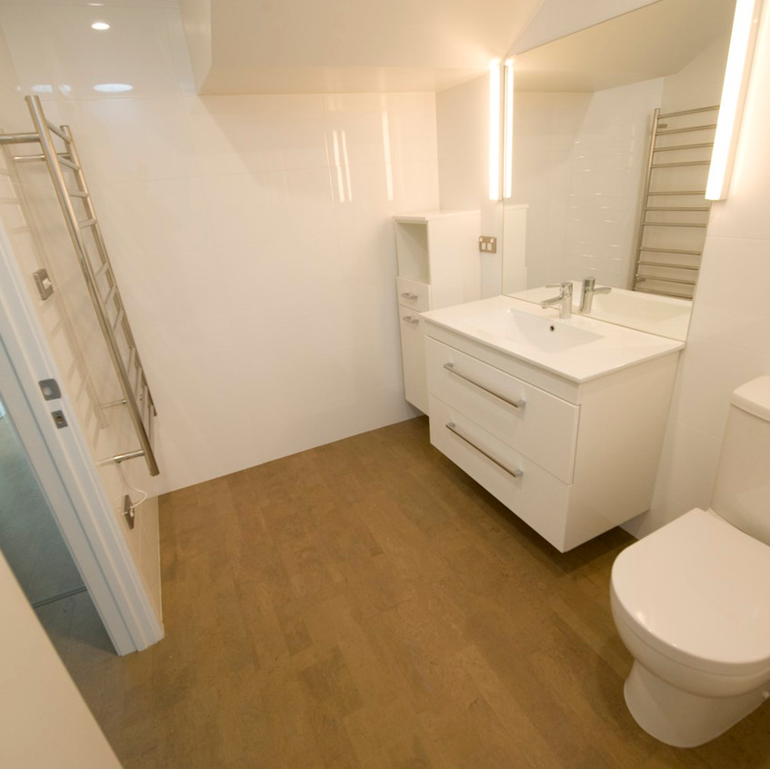 Parnell new home bathroom