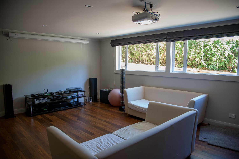Epsom basement renovation lounge 2