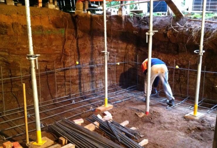 Epsom basement renovation during