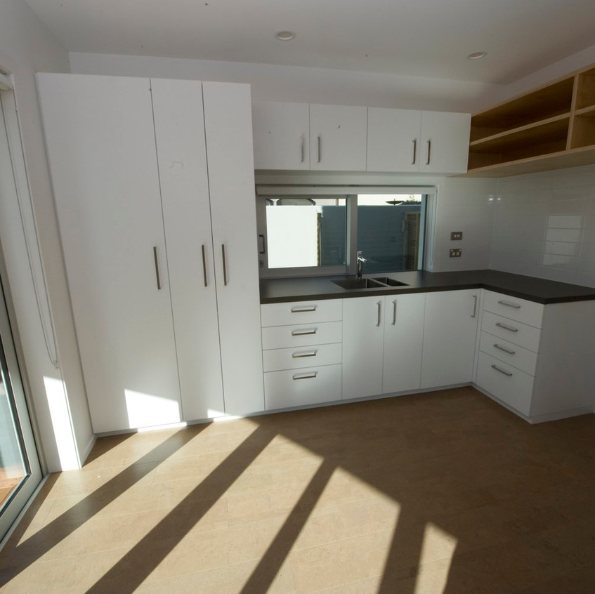 Parnell new home - flat kitchen