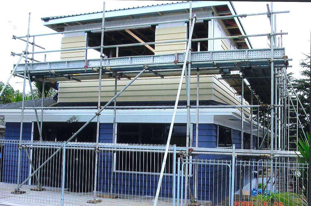 Hillcrest second storey house addition