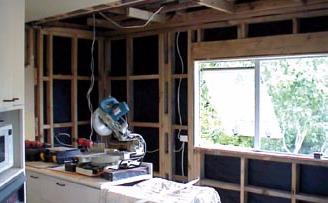 BeachHaven Kitchen Renovation During