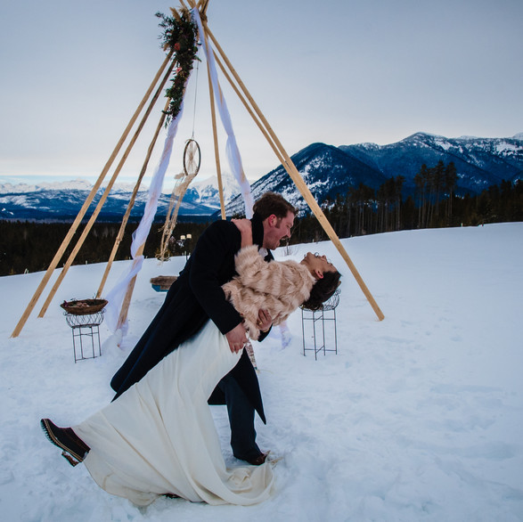 Styled Winter Wedding