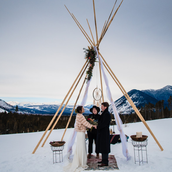 Styled Winter Wedding