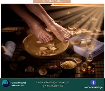 Foot Spa Massage I WANNA MASSAGE Fort Mc