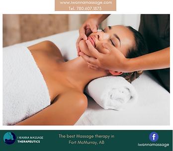 Face Massage I WANNA MASSAGE Fort McMurr