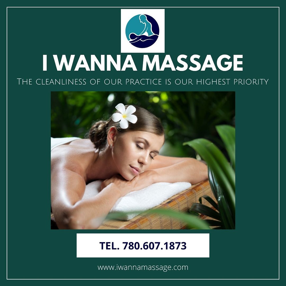 Massage Spa I WANNA MASSAGE THERAPEUTICS fort mcmurray cleaning disinfecting organizing best practice covid-19 pandemic outbreak Thai Massage Thai warrior deep tissue relaxation insurance covered