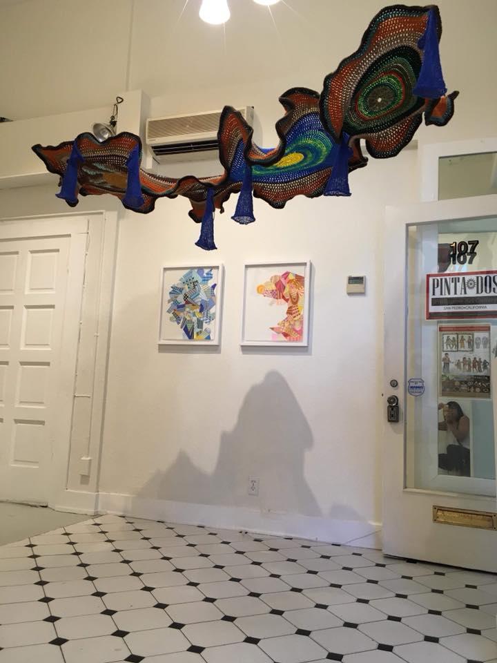Installations | Aze Ong, Crochet Artist, Perfromance artist