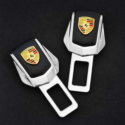 Заглушки замка для ремней безопасности в автомобиль PORSCHE 2 шт