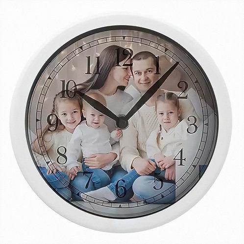 Часы с фотографией круглые
