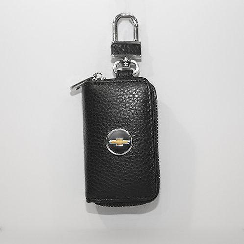 Ключница из натуральной кожи флотер с логотипом CHEVROLET