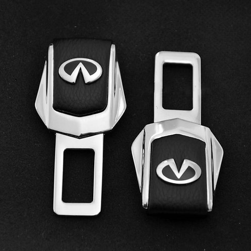 Заглушки замка для ремней безопасности в автомобиль INFINITY 2 шт