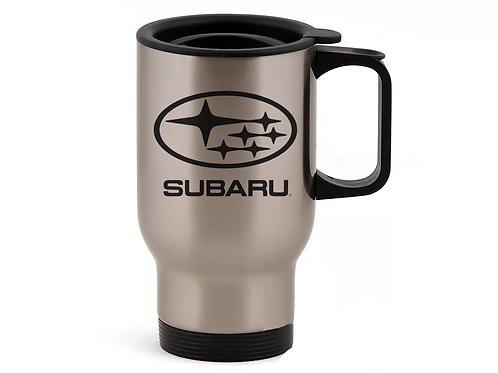 Автомобильная термокружка SUBARU
