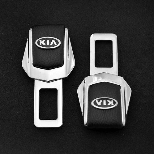 Заглушки замка для ремней безопасности в автомобиль KIA 2 шт