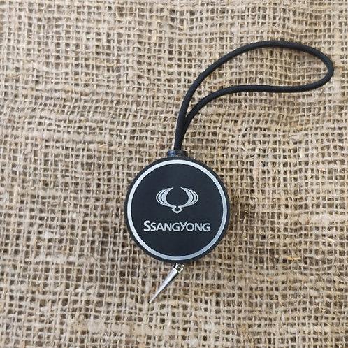 Арома диск с логотипом Ssangyong