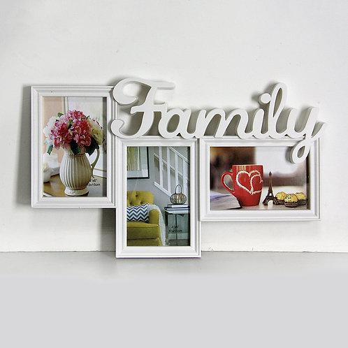 Фоторамка Семья на 3 фото