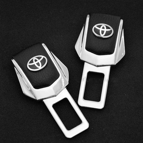 Заглушки замка для ремней безопасности в автомобиль TOYOTA 2 шт