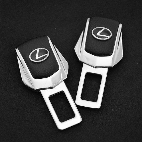 Заглушки замка для ремней безопасности в автомобиль LEXUS 2 шт