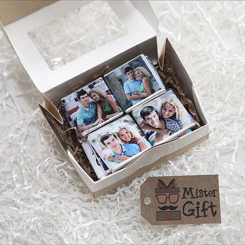 Свадебный шоколад с фото