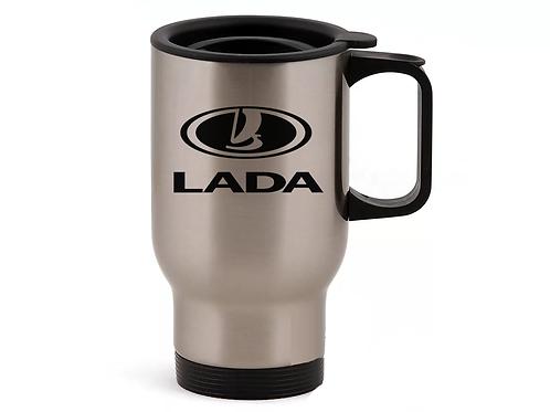 Автомобильная термокружка LADA