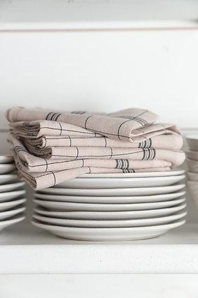 French Bistro Linen Towel   Guimauve