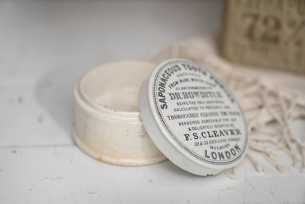 Antique English Stoneware Jar