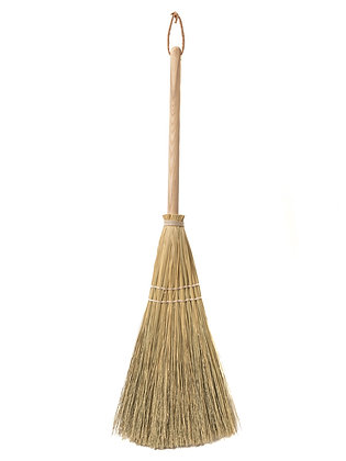 Handcrafted Farmhouse Broom   More Options