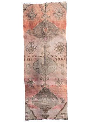 Vintage Turkish Runner   Wool Rug