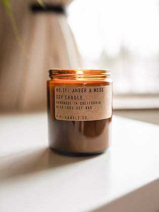 Amber & Moss   P.F. Candle Co.