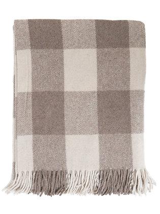 Scottish Wool Blanket in Jacob Tartan