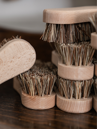 Handcrafted Small Rough Scrub Brush