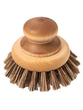 Handmade Wooden Pan Brush
