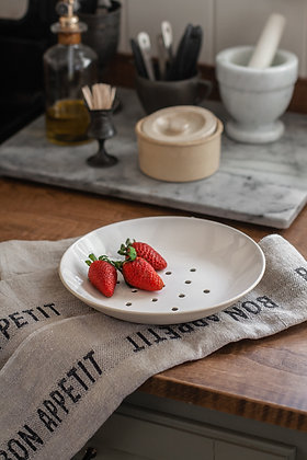 French Strainer Plate