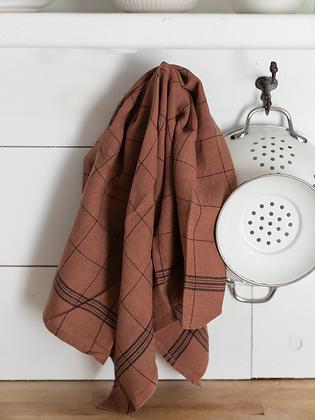French Bistro Linen Towel   Noisette