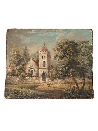 Antique Church Painting