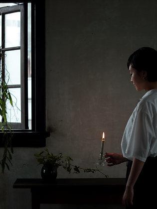 Japanese DAIYO Sumac Wax Candle Set White No.2