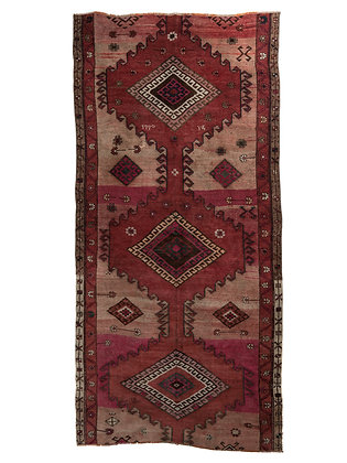Vintage Turkish Runner | Wool Rug