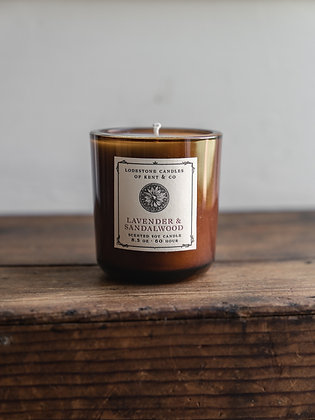 Lavender and Sandalwood Candle