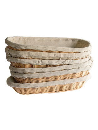 Oval French Bread Basket