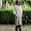 Thumbnail: French Linen Cross Back Apron | Natural